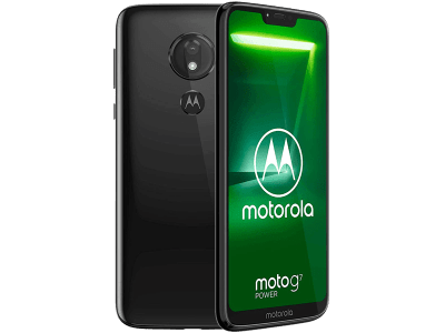 Motorola Moto G7 Power on O2