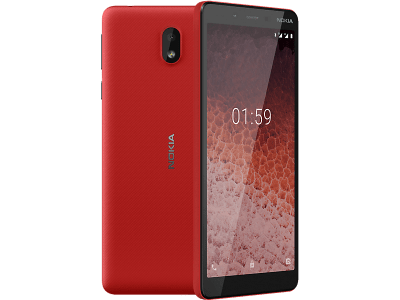 Nokia 1 Plus Red on Vodafone