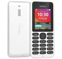 Nokia 130 White with Wearable Teachnology