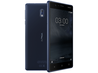 Nokia 3 Blue with Cashback by Redemption