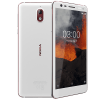 Nokia 3.1 White on EE