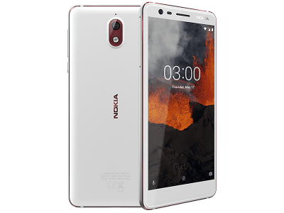 Nokia 3.1 White with Guaranteed Cashback