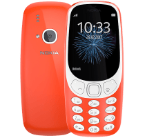 Nokia 3310 (2017) Red on 24 Months Contract