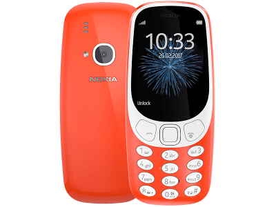 Nokia 3310 (2017) Red on O2
