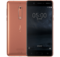 Nokia 5 Copper with Wearable Teachnology