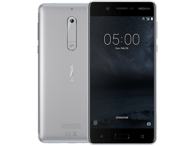 Nokia 5 Silver on Vodafone