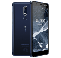 Nokia 5.1 Blue on O2