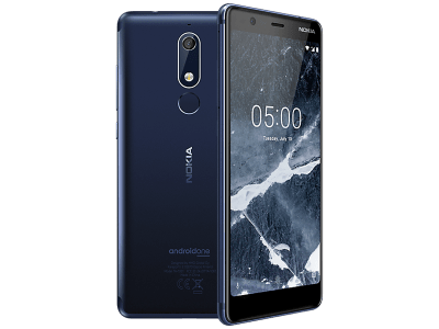 Nokia 5.1 Blue on EE
