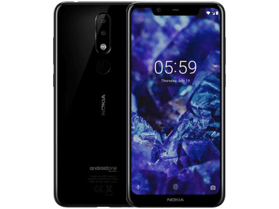 Nokia 5.1 Plus with Cashback by Redemption