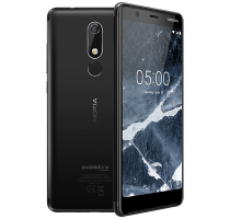 Nokia 5.1 with Headphone and Speakers