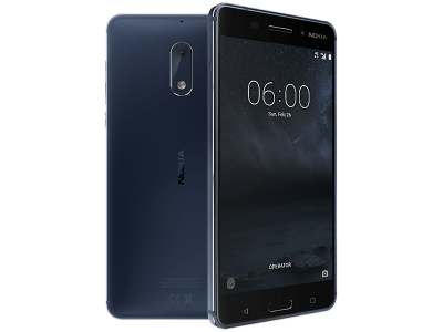 Nokia 6 Blue on Vodafone