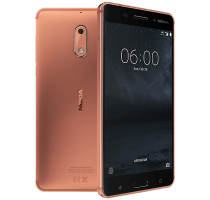 Nokia 6 Copper with iPad and Tablet