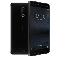 Nokia 6 with iPad and Tablet