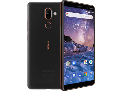 Nokia 7 Plus with Amazon Kindle Paperwhite