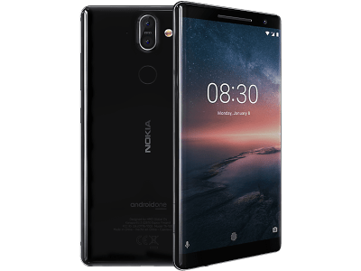 Nokia 8 Sirocco on Vodafone