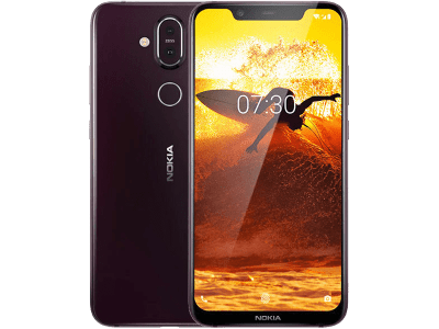 Nokia 8.1 Iron Steel with Cashback