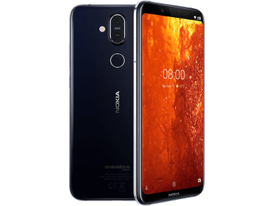 Nokia 8.1 with Guaranteed Cashback