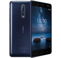 Nokia 8 with iPad and Tablet