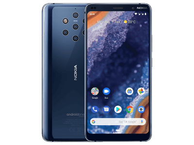 Nokia 9 PureView on EE