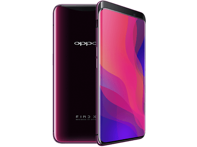 OPPO Find X Red on EE