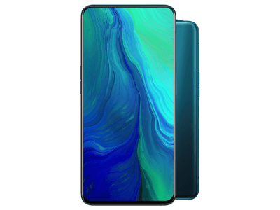 OPPO Reno 5G Green on EE