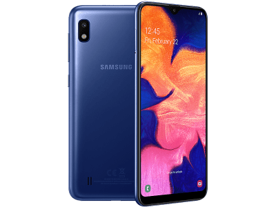 Samsung Galaxy A10 Blue on GiffGaff