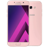 Samsung Galaxy A3 2017 Peach Cloud with Fitbit Flex Band