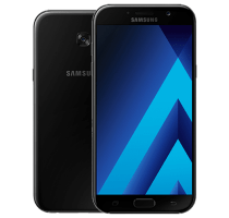 Samsung Galaxy A3 2017 with Laptop