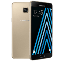 Samsung Galaxy A5 2016 Gold with Sonos Play 3 Smart Speaker