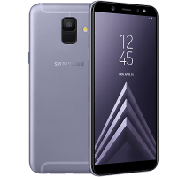 Samsung Galaxy A6 Lavender with Samsung Galaxy Tab A 9.7