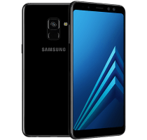 Samsung Galaxy A8 with Television