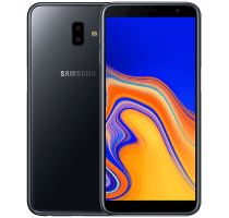 Samsung Galaxy J6 Plus with Laptop