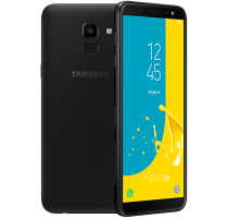 Samsung Galaxy J6 with Laptop