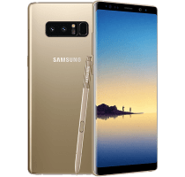 Samsung Galaxy Note 8 Gold on EE