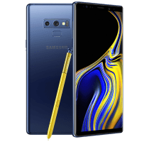 Samsung Galaxy Note 9 Blue on 18 Months Contract