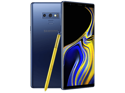 Samsung Galaxy Note 9 Blue on GiffGaff