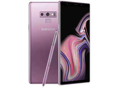 Samsung Galaxy Note 9 Purple on GiffGaff