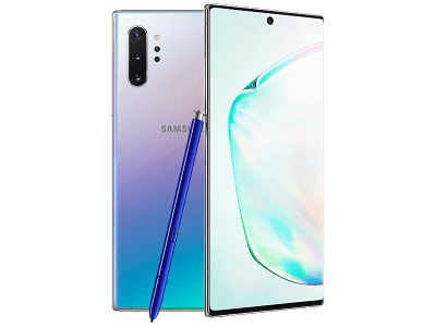 Samsung Galaxy Note10 Plus 5G Aura Glow on 12 Months Contract