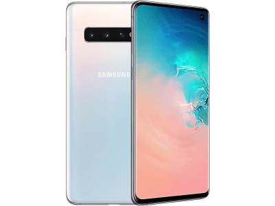 Samsung Galaxy S10 White on 6 Months Contract