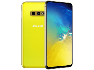 Samsung Galaxy S10e Yellow on Three