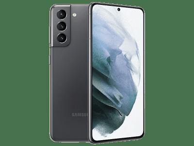 Samsung Galaxy S21 128GB Grey on Three