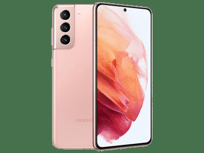 Samsung Galaxy S21 128GB Pink on Three
