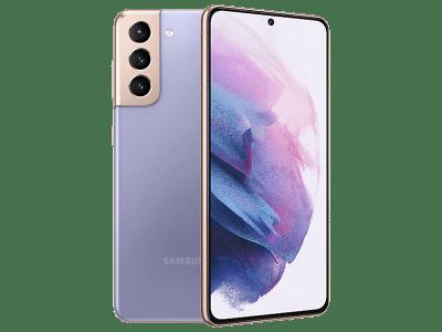 Samsung Galaxy S21 128GB Violet on Three