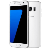 Samsung Galaxy S7 White with Dell Chromebook
