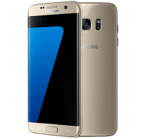 Samsung Galaxy S7 edge Gold with Samsung 24 inch Smart HD TV