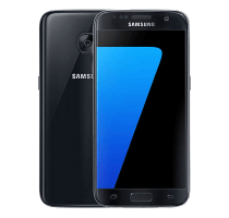 Samsung Galaxy S7 with Laptop