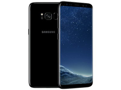Samsung Galaxy S8 with Headphone and Speakers