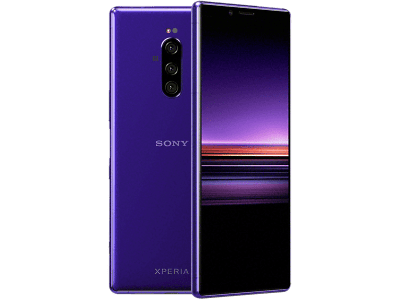 Sony Xperia 1 Purple on 18 Months Contract