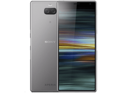 Sony Xperia 10 Plus Silver on Vodafone