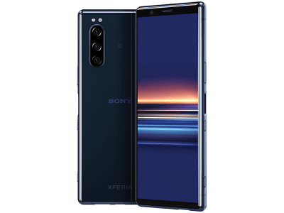 Sony Xperia 5 Blue on 24 Months Contract